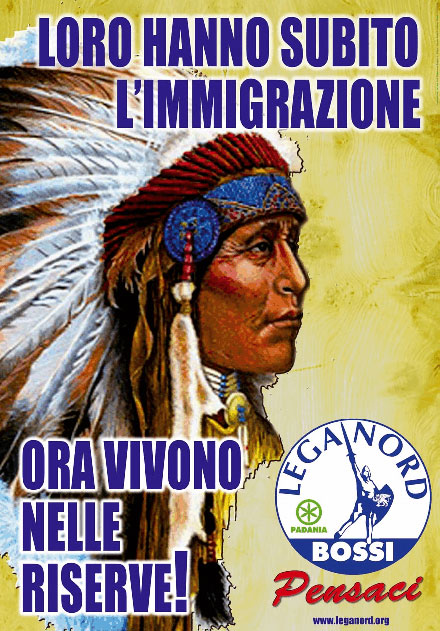 Lega Nord poster 2008